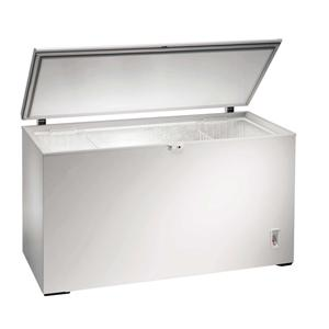 large white chest freezer